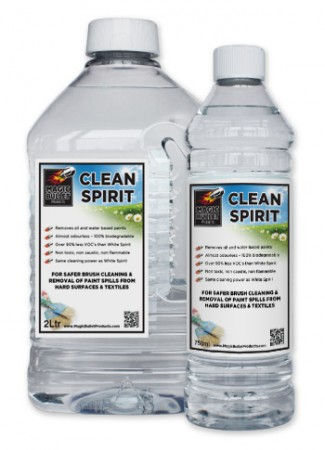 'Cleaner Spirit' water based replacement for 'White Spirit'