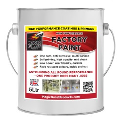 High Performance Factory Paint